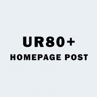 UR 80+ Homepage PBN